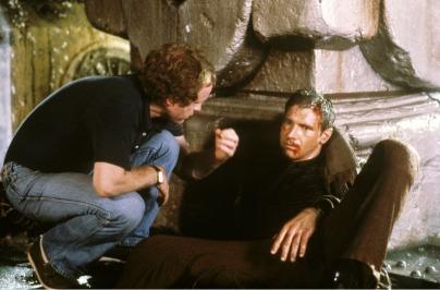 Ridley Scott & Harrison Ford (Blade Runner).