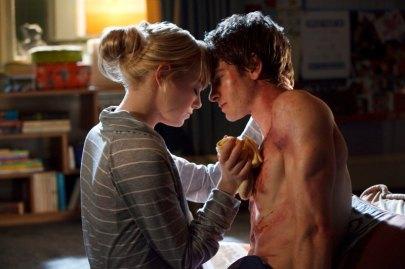 Andrew Garfield & Emma Stone.