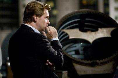 Nolan on set.