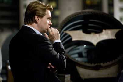 Nolan on set.