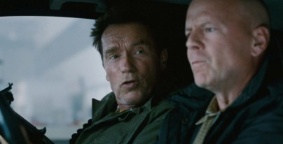 Arnold Schwarzenegger & Bruce Willis.