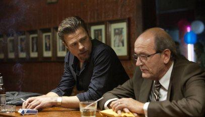 Brad Pitt & Richard Jenkins.