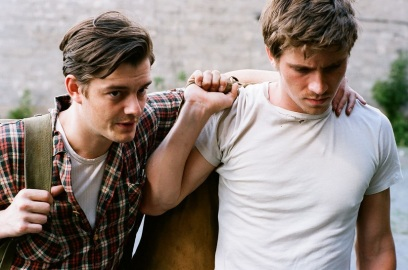 Sam Riley & Garrett Headlund.