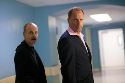 Woody Harrelson & Zeljko Ivanek.