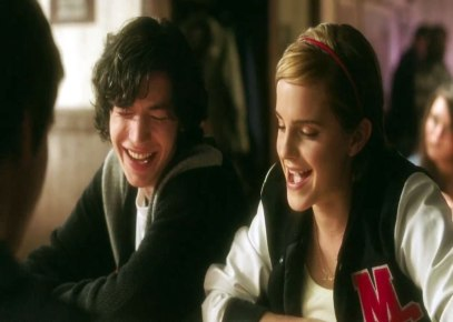 Emma Watson & Ezra Miller.