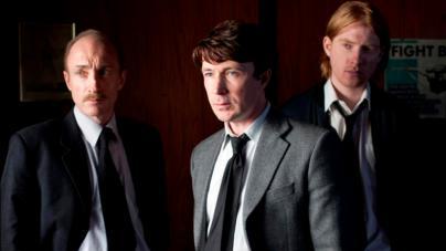 David Wilmot, Aiden Gillan & Domhnall Gleeson.