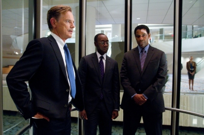 Washington, Bruce Greenwood & Don Cheadle.