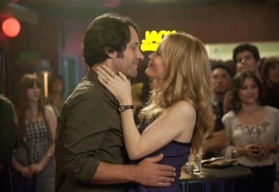 Paul Rudd & Leslie Mann.