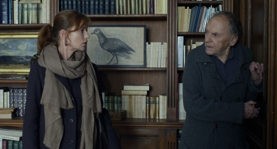 Trintignant & Isabelle Huppert.