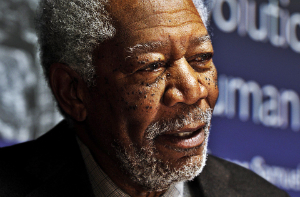 Lucy - Morgan Freeman Wallpaper