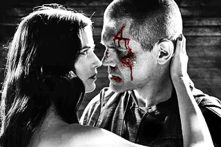 Eva Green and Josh Brolin chewing on the scenery AND each other.