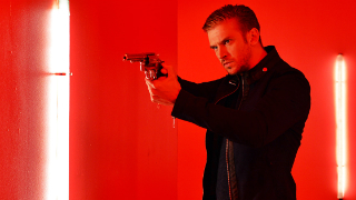 Dan Stevens transforming from Downton Abbey to Demonic warrior.