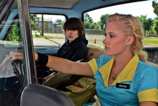 Newcomers Maika Monroe and Brendan Meyer speeding making left and RIGHT career turns.