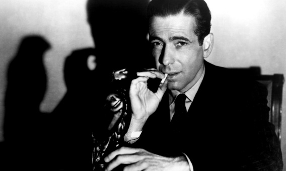Humphrey Bogart, from the archive